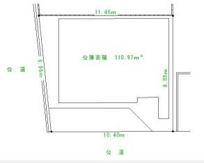 JR阪和線『和泉砂川駅』徒歩5分 南西角地 売地 画像1
